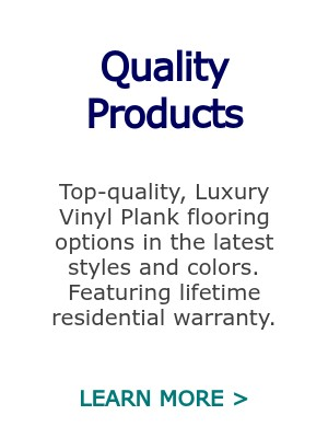 Quality Luxury Vinyl Plank Flooring
