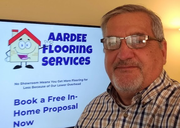 Bob Rutledge Owner of Aardee Flooring Foley AL